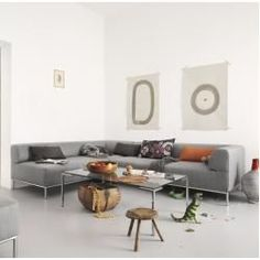 Freistil 185 sofa - stylish, timeless, and natural. Available at Studio Anise // Rolf Benz U. Living Room Modern, Living Room Sofa, Living Room Decor, Living Spaces, Bedroom Decor, Sofa Design, Design Tisch, Office Lounge, Rolf Benz Sofa