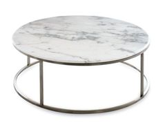 CB2 round marble coffee table - not sure it will go with my place but thinking of buying