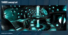 Doctor Who artwork | Doctor Who Media #2 TARDIS Concept Art