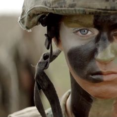 Katy Perry Photos of Female Hero, Female Soldier, Military Women, Military Life, Camouflage Face Paint, Katy Perry Photos, Brave Women, Army Life, God Bless America