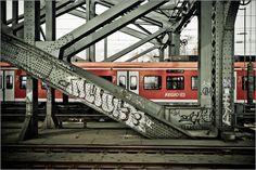Poster des Tages zum Kalender des Tages:    Ingo Gerlach - Hohenzollernbrücke in Köln