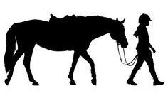 Horse decal-Kids room decor-Girls room decor-Horse and rider decal-Vinyl wall decal-28 X 13 inches on Etsy, $12.00