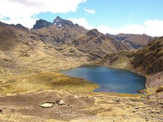 A peaceful scene high up in the Lares Valley Peru. http://www.larestrek.org/