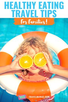 Eating healthy while on family vacation may not be easy, but it is definitely do-able with these 9 tips! Make healthy food fun while traveling with kids with these handy suggestions from a family travel expert. #eathealthy #travelwithkids #familytravel #healthyeating Travel With Kids, Family Travel, Road Trip With Kids, Traveling With Baby, Travel Expert, Travel Tips, Family Vacation Destinations, Cruise Vacation, Vacation Trips