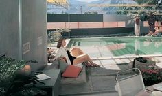 rey Residence I by Albert Frey, Palm Springs, California, by Julius Shulman © J. Used with permission. Julius Shulman Photography Archive, Research Library at the Getty Research Institute Palm Springs, Albert Frey, Seagram Building, Tower Block, Dome House, House 2, Architectural Photographers, Modernism, Modern Architecture