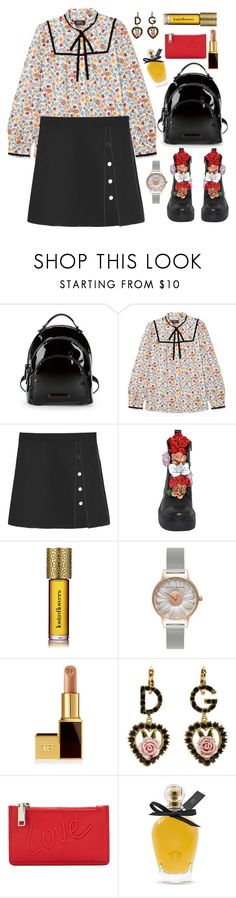 """Flower Power"" by celida-loves-pink on Polyvore featuring Kendall + Kylie, A.P.C., Strangelove NYC, Olivia Burton, Tom Ford, Dolce&Gabbana, MANGO, EB Florals, Minimalist and Minimaliststyle"