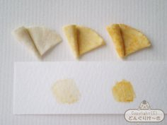 How to make a miniature crepe - Photo 07 Candy Phone Cases, Mini Foods, Miniture Things, Miniature Food, Just Desserts, Polymer Clay, How To Make, Handmade, Craft