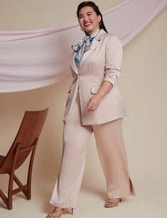 My Favorite Fall 2021 Looks From Eloquii | Estrella Fashion Report Plus Size Suits, Plus Size Work, Satin Skirt, Dress Skirt, Curvy Fashion, Plus Size Fashion, Fast Fashion, Sequin Jumpsuit, Plus Size Designers
