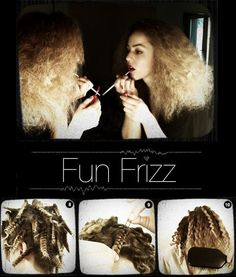 Halloween - Fun Frizz tutorial - The Beauty Department