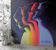 Athens, Greece by street artist Achilles   street art 2015, urban artists, street artists, wall murals, graffiti art