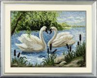 446 Два лебедя