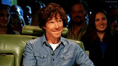 oH my Cumberbatch. The world's greatest giggle! gif.
