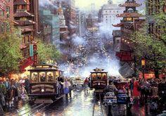 Thomas Kinkade's painting of downtown San Francisco! <3 | My Style | Pinterest | Thomas Kinkade, Francisco D'souza and San Francisco www.pinterest.com640 × 450Buscar por imagen thomas kinkade painting san francisco Visitar página  Ver imagen