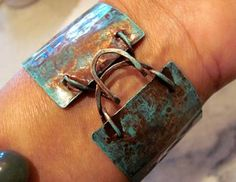making-jewelry-now.com Copper Cuffs - Variations on a Theme