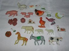 animales de plastico