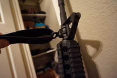 installed sidesling on #colt #ar15 #rifle #firearm #gunsense