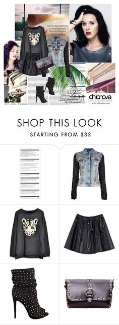 """Katy Perry"" by dora04 ❤ liked on Polyvore featuring Arche, Philipp Plein, Nine West, Boohoo, chicnova and katyperry"