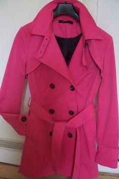 Damen Trenchcoat in PINK, Gr. 38     NEU!!!