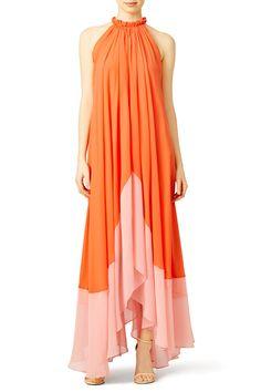 Orange Iris Maxi by SALONI for $60 - $90 | Rent the Runway