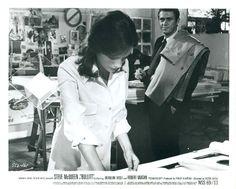 Steve McQueen, Jacquline Bisset | Bullitt | 1968 | as Frank Bullitt