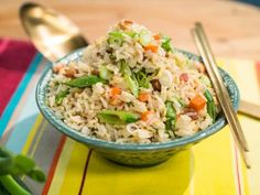 "Bacon and Egg Fried Rice (No Carb Left Behind) - Jet Tila, Chef/Restaurateur & Cookbook Author, Guest on ""The Kitchen"" on the Food Network. Seared Salmon Recipes, Pan Seared Salmon, Easy Rice Recipes, Asian Recipes, Ethnic Recipes, Asian Foods, Chinese Recipes, Churros, Tostadas"