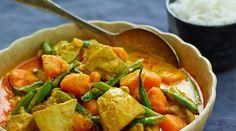 Thai yellow curry chicken