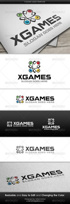 x Game  - Logo Design Template Vector #logotype Download it here: http://graphicriver.net/item/x-game-logo-template/3421378?s_rank=138?ref=nexion