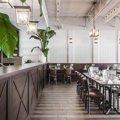 Fourchette Antillaise project reveal - Valérie De L'Étoile interior design Restaurant, Conference Room, Furniture, Design, Home Decor, Decoration Home, Room Decor, Restaurants, Meeting Rooms