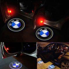 BMW laser d�rr projektor med BMW logga