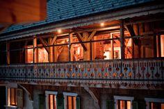 Exterior balcony at The Retreat - flexiski chalet in Morzine-Avoriaz, France. Ski holidays with flexiski.