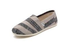 Toms Black Zebra Womens Classics Shoes