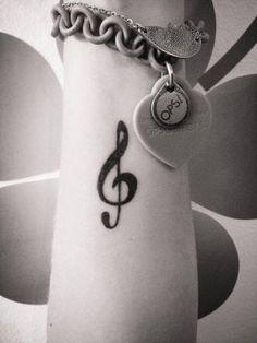 tatuajes de musica mas lindos