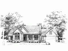Eplans French Country House Plan - Spicewood - 1913 Square Feet and 3 Bedrooms from Eplans - House Plan Code HWEPL73943