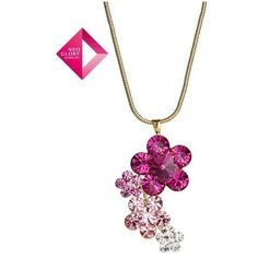 Aliexpress.com : Buy Neoglory Jewelry Fashion Crystal Flowers Necklace... via Polyvore
