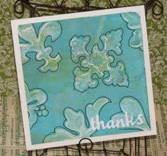 Gelli Plate Art - Thanks