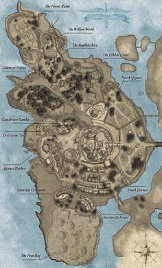B00 Qeynos All Map Map - EverQuest 2