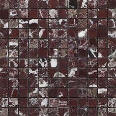 Rosso Levanto Marble Mosaic