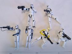 Star wars Lot of 6 loose Storm trooper Hasbro action figures | Toys & Hobbies, Action Figures, TV, Movie & Video Games | eBay!
