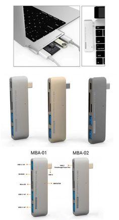 """USB-C 12"""" MACBOOK 5 IN 1 ADAPTER V2 (PRE-ORDER)"""