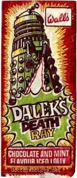 Dalek's Death Ray Iced Lolly