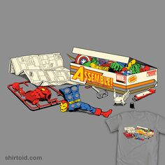 "#Avengers ""Assembly Required"" t-shirt"