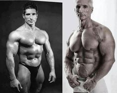 Old Bodybuilder – Then And Now Picture AWESOME KEEPING! 100% MOTIVATIONAL