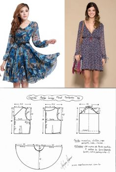 - Best Sewing Tips Diy Clothing, Sewing Clothes, Clothing Patterns, Barbie Clothes, Sewing Patterns, Girl Dress Patterns, Dress Making Patterns, Fashion Sewing, Diy Fashion