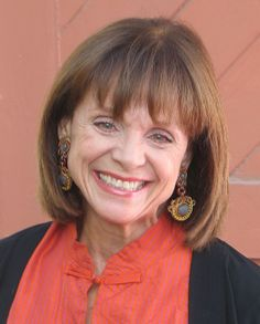 Actress Valerie Harper, know for her roles as Rhoda Morgenstern in the 1970s television series The Mary Tyler Moore Show and its spin-off, Rhoda, and later as Valerie Hogan in Valerie wearing Dori Csengeri's earrings!