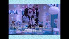 Decoración de Frozen, fiesta infantil, en Lima Perú / Telf. 5741436-9449...