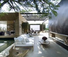 outdoor indoor living space