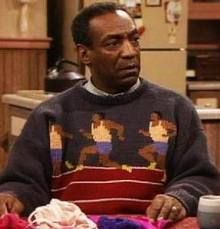 bill cosby - the sweaters!