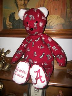 Roll Tide! These make great baby shower gifts!