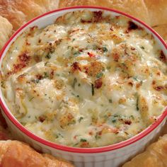 Crab Imperial Dip. Bake until bubbling!                                                                                                                                                      More