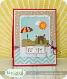 card nautical beach summer relax vacation Introducing Little Bits, Big Kahuna, Hippo Birdy, and MUCH more!